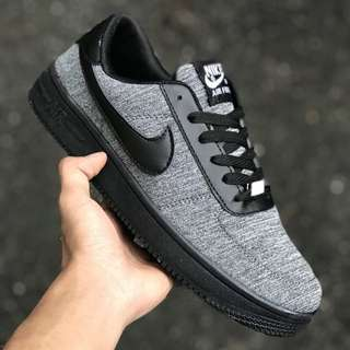 AIRFORCE BLACK GREY  (36-45) promo new