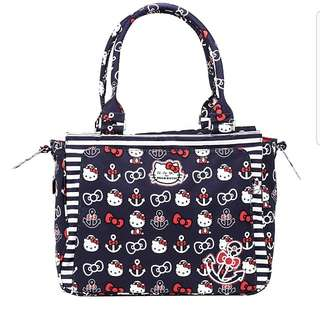 Ju-Ju-Be Hello Kitty Out to Sea Collection Be Classy Structured Handbag Diaper Bag
