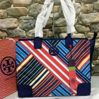 FREE SHIP Tory Burch Packable tote - print5