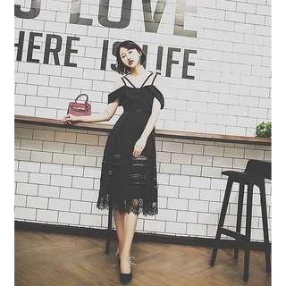 小香風 新款 黑色小禮服