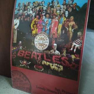 Poster The Beatles Sgt. Pepper's Lonely Hearts Club Band