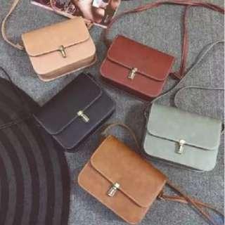 Ladies Korean Style Small Shoulder Sling Bag