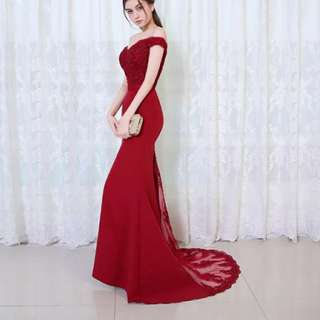 CUSTOM MADE Alana evening gown