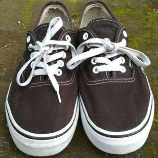 Vans Authentic Black White