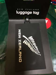 New Zealand Bag Tag