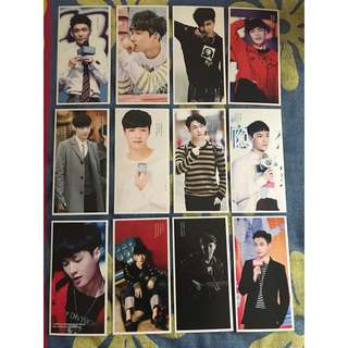 🎈WTS EXO Lay Postcards 🎈