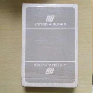 經典美國聯合航空撲克牌