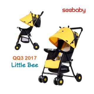 Qq3 Little bee Seebaby Stroller 👌👌👌