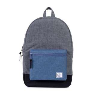 🎉SALE🎉 HERSCHEL SUPPLY SETTLEMENT BACKPACK (CHARCOAL/NAVY CROSSHATCH)