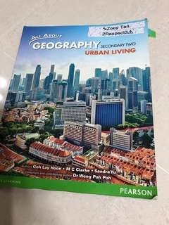 Secondary 2 Geography Textbook