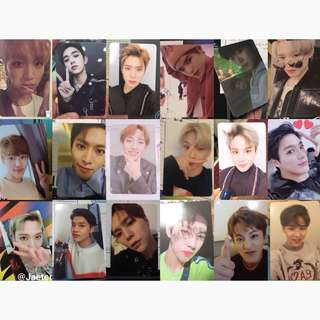 nct 2018 empathy album photocards