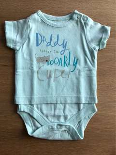Mothercare Statement Onesie