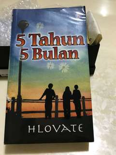 Malay novel - still in plastic