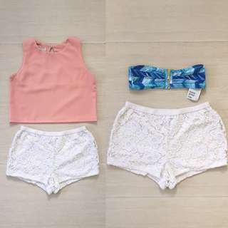 BUNDLE: BNEW H&M, Bangkok Top and Forever 21