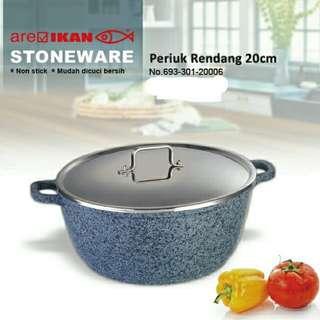 Periuk Rendang Stoneware 20cm