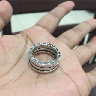 Bvlgari Bzero Ring White Gold size 52