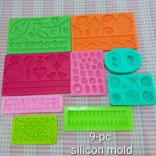 9pc silicon mold