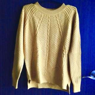 Brand New Yellow Sweater
