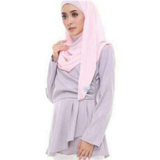 Blouse Dusty pink wrap