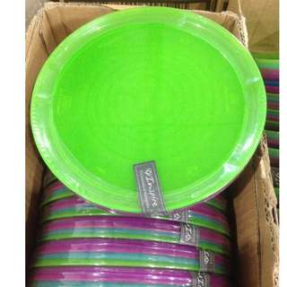Inspired 4 Plate Set with Assorted Colors for Children