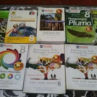 grade 8 books of st.joseph college q.c