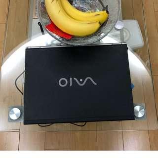 """SONY 手提電腦 13"""" (WINDOW 7 運作正常) - MADE IN JAPAN"""