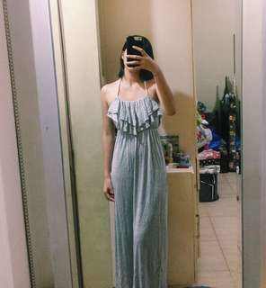 Forever 21 Gray Maxi Dress
