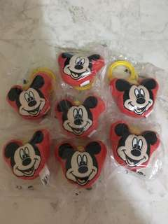 Brand New 07 Pieces Singapore Airlines Mickey Mouse Disney Toy