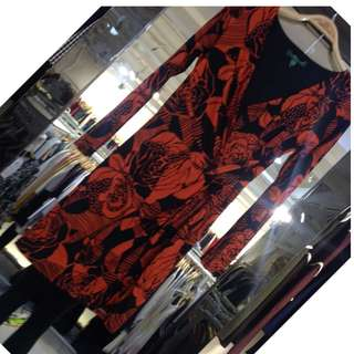 Ralph Lauren Printed Jersey Dress