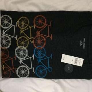 "Banana Republic ""bicycle themed"" T-shirt"