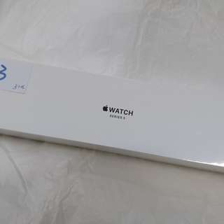 Apple Watch Series 3 38mm Silver Aluminum Fog Sport Band (GPS)