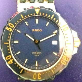 Rado diastar 200M 防水男裝手錶
