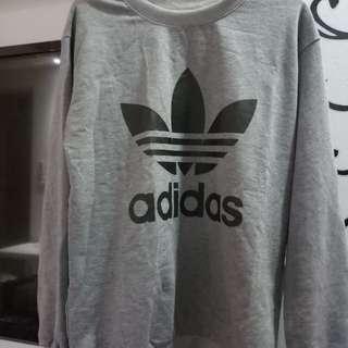Adidas Pullover(Grey)