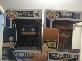 Batman and Robin Funko Pop + Free Gift