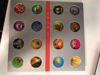 Stamp - merry Christmas Hong Kong 2002