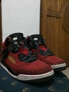 Air Jordan Spizike Red gym