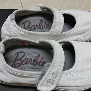 Barbie school white shoe