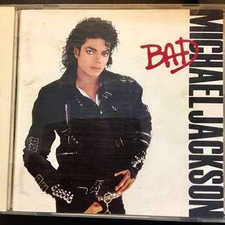 【CD Sale】Japan Press 1987 Michael Jackson - Bad CD