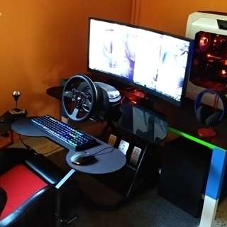 Thrustmaster T300rs GT with th8 shifter