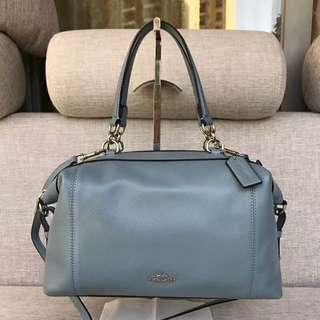 LENOX SATCHEL IN PEBBLE LEATHER COACH F59325