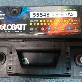 Bateri kereta 12v 55ah gloobatt