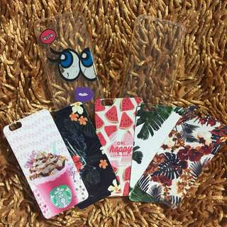 2 Softcase + 5 PaperCase Iphone 6