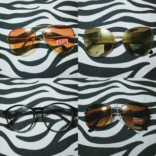 Sunnies/Specs for only 80each.