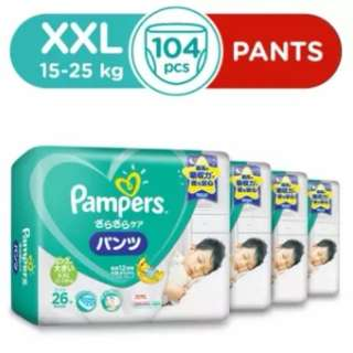 Pampers Baby Dry Pants XXL 26s (15-25+kg) x 4 Pack