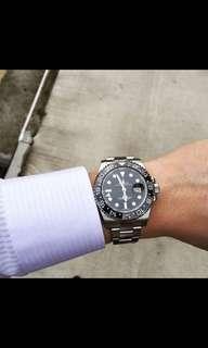 Rolex GMT stainless steel