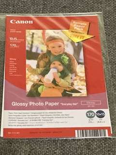 Cannon photo paper