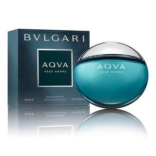Bvlgari AQVA Pour Homme EDT for Men (50ml/100ml/150ml/Tester/Giftset) Bulgari Aqua Blue