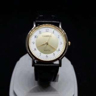 Campell 簡約大氣石英錶