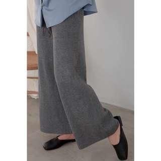 studiodoe綁帶針織褲(駝色)