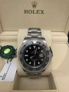 Rolex 116710LN GMT II 2018年全新錶💪🏻